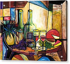 Still Life / Sharons' Feast Acrylic Print