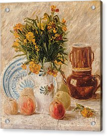 Still Life Acrylic Print by Vincent van Gogh