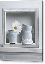 Still Life With A Wooden Box Acrylic Print