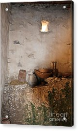 Still Life With Basket Acrylic Print
