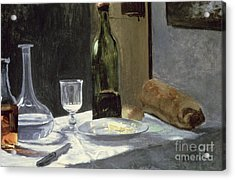 Still Life With Bottles Acrylic Print