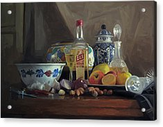 Still Life With Els Acrylic Print