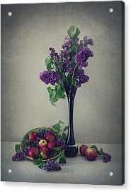 Still Life With Lilac Acrylic Print