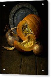 Still Life With Pumpkin Acrylic Print