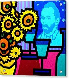 Still Life With Vincent Acrylic Print by John  Nolan