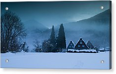 Still Of Evening Acrylic Print by Aaron Bedell