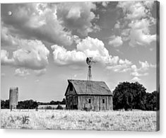 Still Standing Proud Acrylic Print by Jean Hutchison