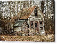 Still Standing Acrylic Print by Terry Rowe