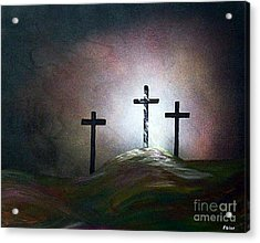 Acrylic Print featuring the painting Still The Light by Eloise Schneider