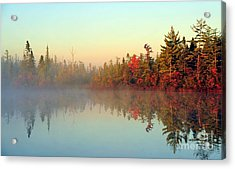 Still Water Marsh Acrylic Print by Terri Gostola