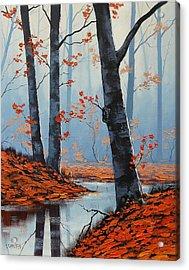 Still Woodland Acrylic Print