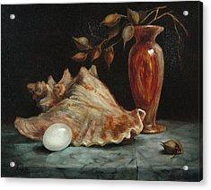 Stilllife Acrylic Print by Jolyn Kuhn