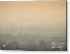 Stillness Over The Oxfordshire Countryside Acrylic Print by OUAP Photography
