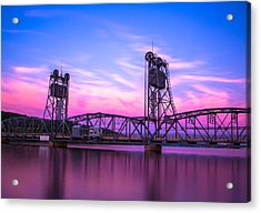 Stillwater Lift Bridge Acrylic Print by Adam Mateo Fierro