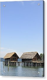 Stilt Houses At Lake Constance Germany Acrylic Print by Matthias Hauser