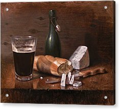 Stilton And Porter Acrylic Print by Timothy Jones