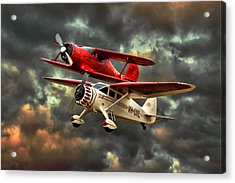 Stinson And Beech Acrylic Print by Steven Agius
