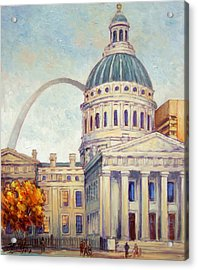 St.louis Old Courthouse Acrylic Print