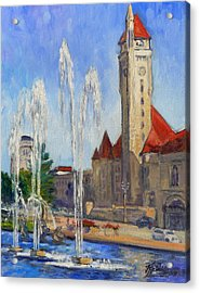 St.louis Union Station 1 Acrylic Print