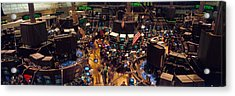 Stock Exchange, Nyc, New York City, New Acrylic Print by Panoramic Images