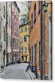 Stockholm 15 Acrylic Print