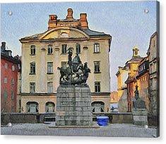 Stockholm 6 Acrylic Print