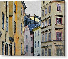 Stockholm 8 Acrylic Print