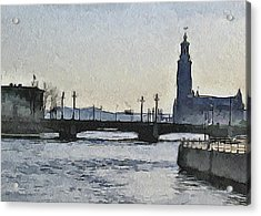 Stockholm 9 Acrylic Print by Yury Malkov