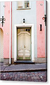 Stockholm Doorway Acrylic Print by Thomas Marchessault
