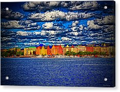 Stockholm Experimental Hdr Acrylic Print by Ramon Martinez