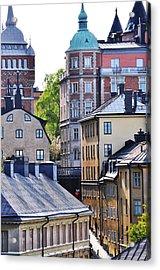Stockholm Acrylic Print
