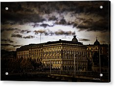 Stockholm V Acrylic Print by Ramon Martinez