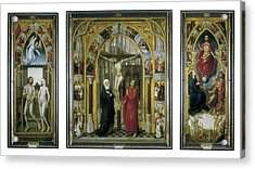 Stockt, Vrancke Van Der 1420-1495 Acrylic Print