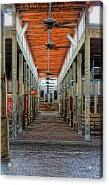 Stockyard Mall Acrylic Print