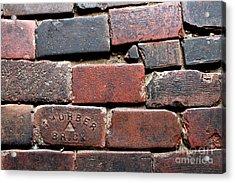 Stockyards Brick Acrylic Print
