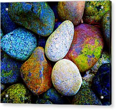Stone And Light 9 Acrylic Print
