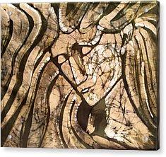 Stone Angel Acrylic Print