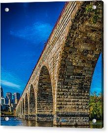 Stone Arch Bridge By Paul Freidlund Acrylic Print