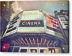 Stone Arch Cinema Acrylic Print by Susan Stone