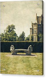 Stone Bench Acrylic Print by Joana Kruse
