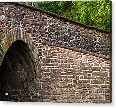 Stone Bridge Acrylic Print by Dale Nelson