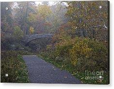 Stone Bridge In Autumn 3 Acrylic Print