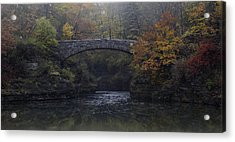 Stone Bridge In Autumn II Acrylic Print