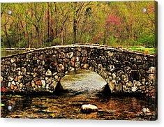 Stone Bridge In The Ozarks Acrylic Print