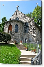 Stone Church Acrylic Print