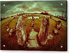 Acrylic Print featuring the photograph Stone Circle by David Isaacson