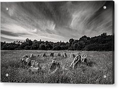 Stone Circle Ireland Acrylic Print by Pierre Leclerc Photography