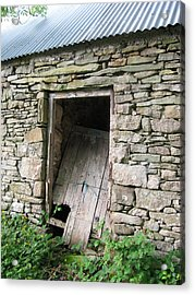 Acrylic Print featuring the photograph Stone Cottage by Kandy Hurley
