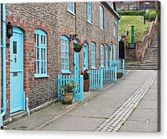 Stone Cottages Acrylic Print by Tom Gowanlock