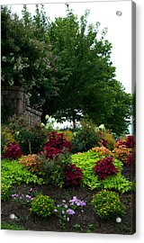 Acrylic Print featuring the photograph Stone Entrance by Cathy Shiflett
